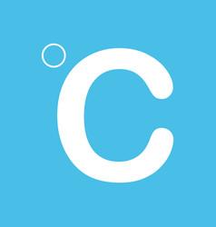 Celsius icon vector