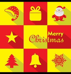 Christmas Celebration symbols stock vector