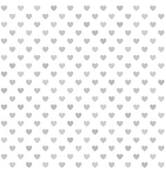 heart pattern seamless background vector image