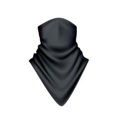 realistic bandana vector image