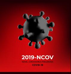 Sars cov-2 virus banner vector