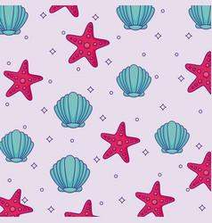 sea star design vector image