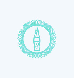 soda icon sign symbol vector image
