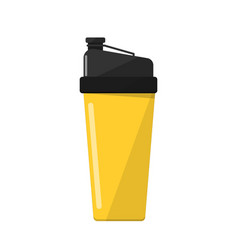 sport drink bottle isolated icon vector image
