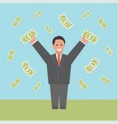 Profit concept business vector