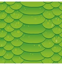 Snake skin texture Seamless pattern green vector image vector image
