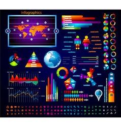 premium infographics vector image vector image