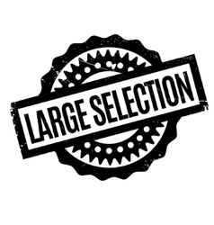 Large selection rubber stamp vector