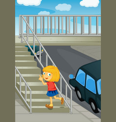 Using the overpass vector image