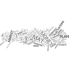 are plans a good idea in this market text vector image