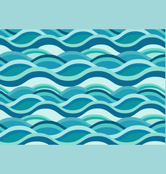 blue water background seamless ripples vector image
