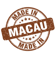 Made in macau vector