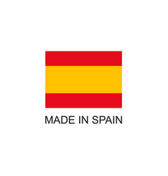 made in spain sign vector image