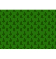 pattern for wrapping paper christmas tree vector image