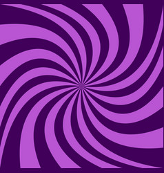 purple spiral design background vector image