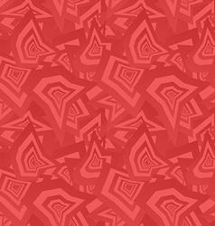 Red seamless irregular shape pattern background vector