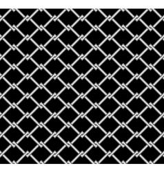Steel grid vector image