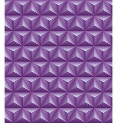 Tripartite pyramid lilac seamless texture vector image vector image