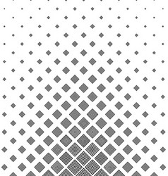 Black and white concentric square pattern vector image vector image