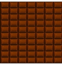 seamless texture Chocolate vector image vector image
