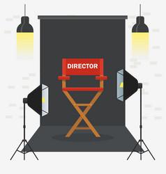 photo videoporodaction studio vector image vector image