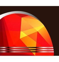 Business Flyer background Design vector image