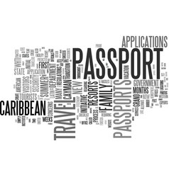 Get your passport now for summer travel to the vector