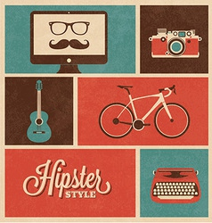 Hipster Style vector image