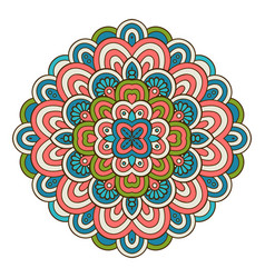 Indian mandala vector