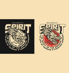 japanese mixed martial arts academy label vector image