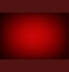 Red perforated grid background vector