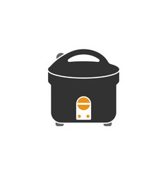 Rice cooker icon design template isolated vector