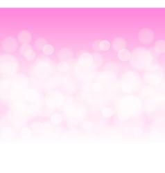 soft pink bokeh background vector image