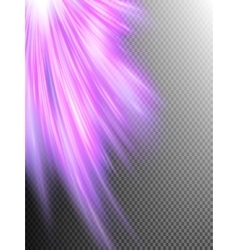 A pink abstract wave background EPS 10 vector image vector image