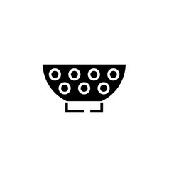 stainer icon black sign on vector image