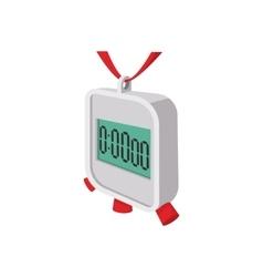 Stopwatch cartoon icon vector image vector image