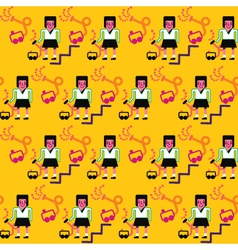CharacterPattern vector image