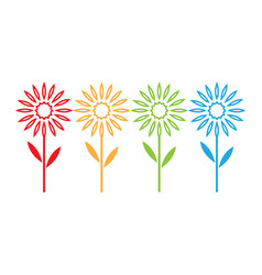edelweiss logo vector image