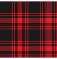 Menzies tartan black red kilt skirt fabric texture vector