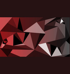 modern red polygon picture background vector image
