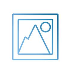 pictogram board vector image