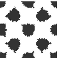 shield isolated icon seamless pattern vector image