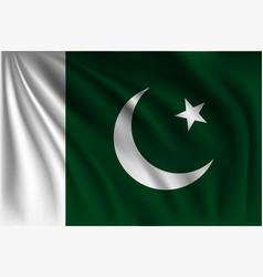 Waving pakistan vector