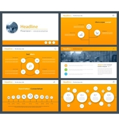 White elements of infographics for minimalist vector image