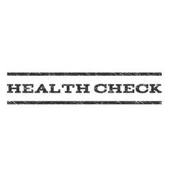 Health check watermark stamp vector