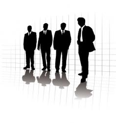 business graphic vector image vector image