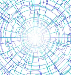 Abstract Lines Technology Background vector