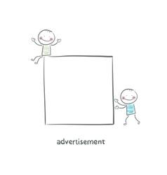 Advertisement vector