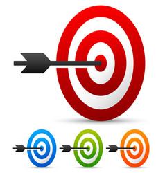 Arrow in target vector