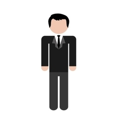 Avatar concept man icon colofull flat and vector